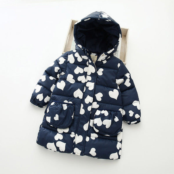 Girl 's Parkas Winter Jacket