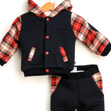 Boys Holiday Hoodie and Pants Set
