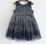 Girl's Holiday Sequins Sweet Princess Dress