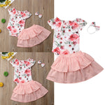Miss Rose baby girl 3 pcs set