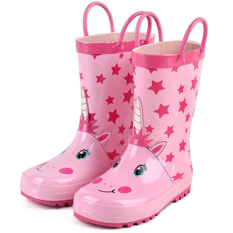 Unicorn Rainboots