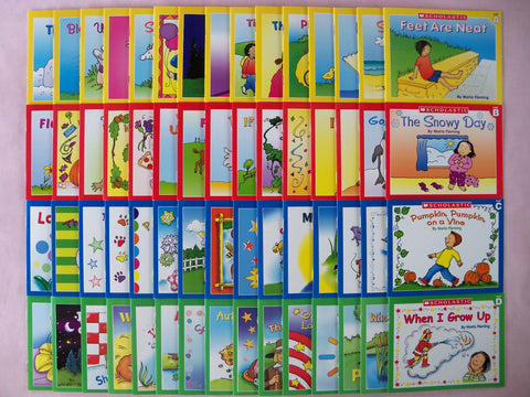 Scholastic Little Leveled Readers Learn to Read Children's Books Lot 60