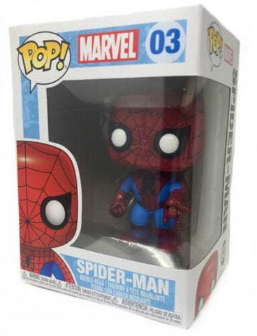 Spider-Man Vinyl Bobble-Head Figure Item #2276