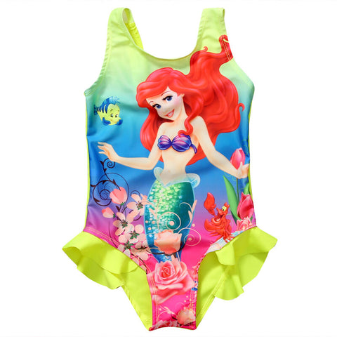 Little Girl Mermaid Swimsuit