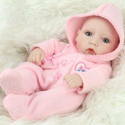 Christmas Newborn Baby Doll 10""