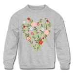 Mommy and me Matching Sweatshirt - heather gray