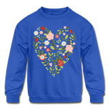 Mommy and me Matching Sweatshirt - royal blue