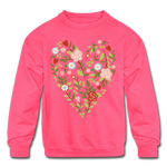 Mommy and me Matching Sweatshirt - neon pink