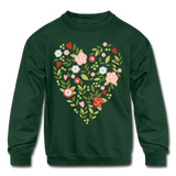Mommy and me Matching Sweatshirt - forest green