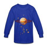 Planet Kids Shirts - royal blue