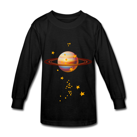Planet Kids Shirts - black