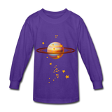Planet Kids Shirts - dark purple
