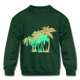 Vacation mode Sweatshirt - forest green