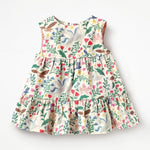 Wild rose Little Girls Dress