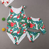 Hawaiian Family Matching Swimwear