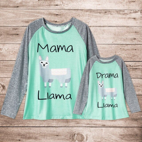 Mommy and Me matching T-shirt
