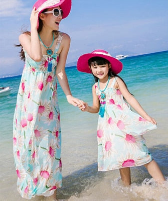 Mommy and me Chiffon beach dress