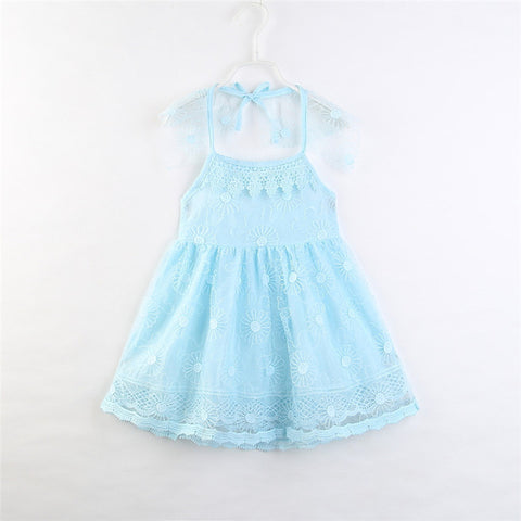 Pretty Blue Party Dress
