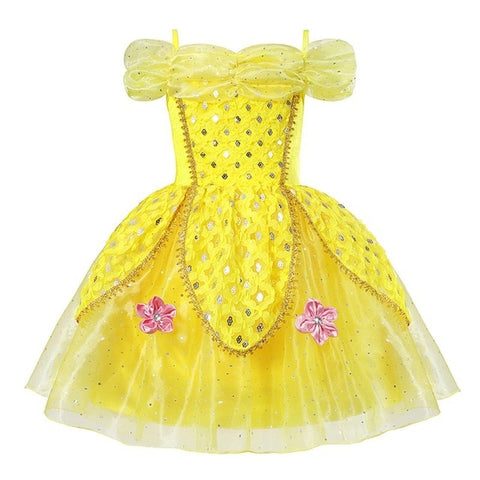 Belle Princess  Birthday Party Dress