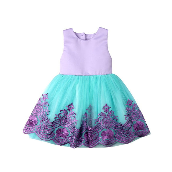 Sweetheart Little Girls Party Dress