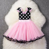 Holidays Heart Sequins Dress Tutu Princess Dress