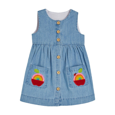 Little Girl's Beautiful Apple Dresses
