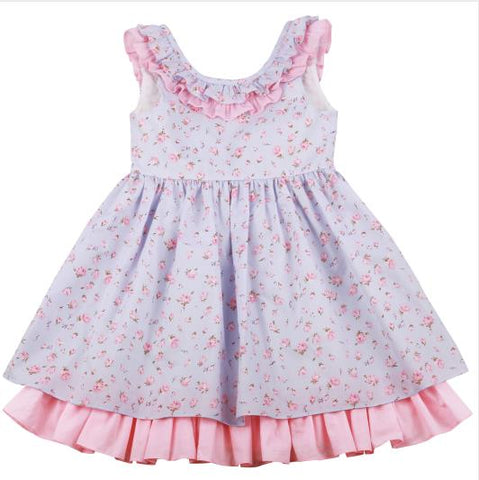 Little Girl Easter Rose Dress