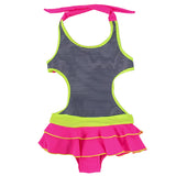 Girls Ruffle Swimsuit