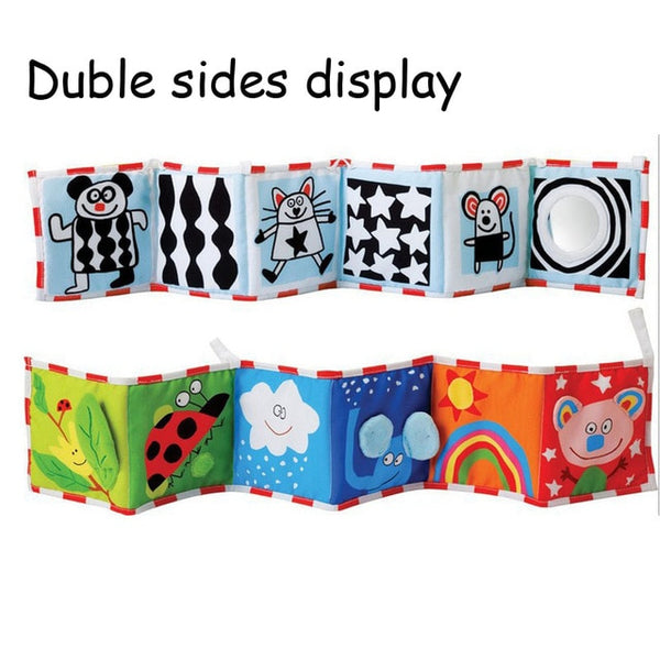 Baby Multi-Touch Colorful Bed Bumper and Book - Debbie's Kids Boutique