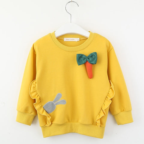 Girls sunshine sweater