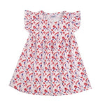 Ruffle Printed Baby Girl's Sundress
