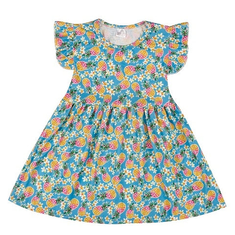 Pretty Girl's Floral Sundress