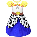 Jessie Fancy Dress Up Summer Off Shoulder Halloween Party Costume