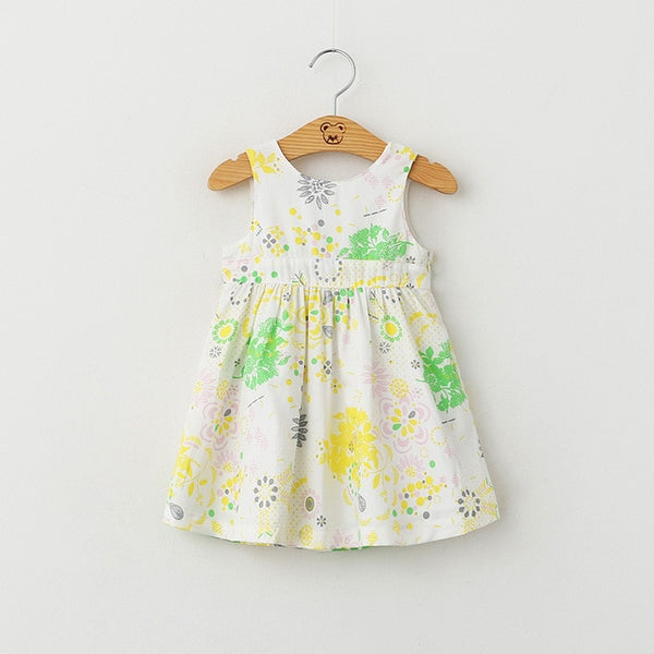 Butterfly Print Toddler Dress - Debbie's Kids Boutique