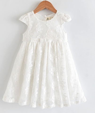 Emily Embroidery  Flower Dress
