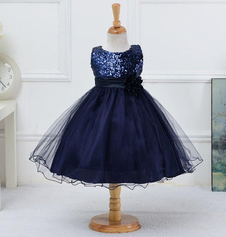 Pretty Princess Sequence Holiday Dresses