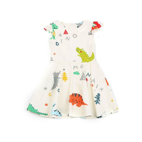 Fun Dino Girls Dress