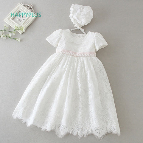 Stunning Baby  Christening Dress and Hat
