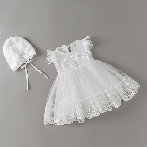 Baby Girl Baptism Dress - Debbie's Kids Boutique