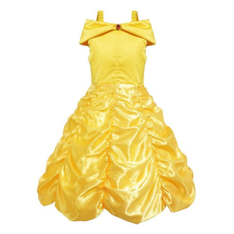 Princess Belle Dress - Debbie's Kids Boutique