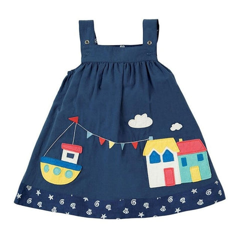 Little Girls Adventure Dress
