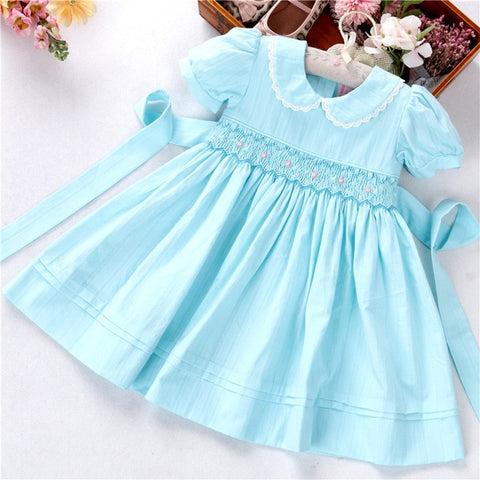Little Girl Vintage Smock Dress