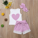 Baby Girl Shorts 3 pcs set - Debbie's Kids Boutique