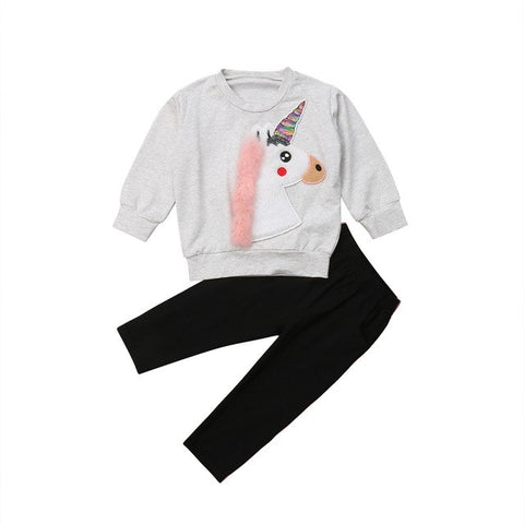 Unicorn 2 pcs Sweatshirt Set