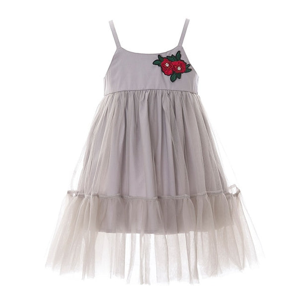 Pretty Rose Party Dress