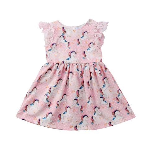Pretty unicorn beach dress