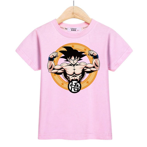Boys Dragon Ball Anime T-shirt - Debbie's Kids Boutique