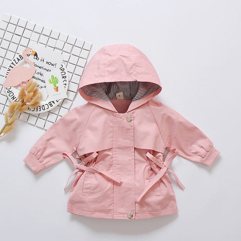 Pretty Pink Spring Windbreaker Jacket