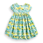 Pretty lemon girl dress