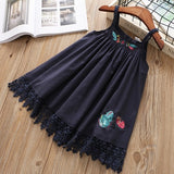 Simply Beautiful Casual Girls Dress